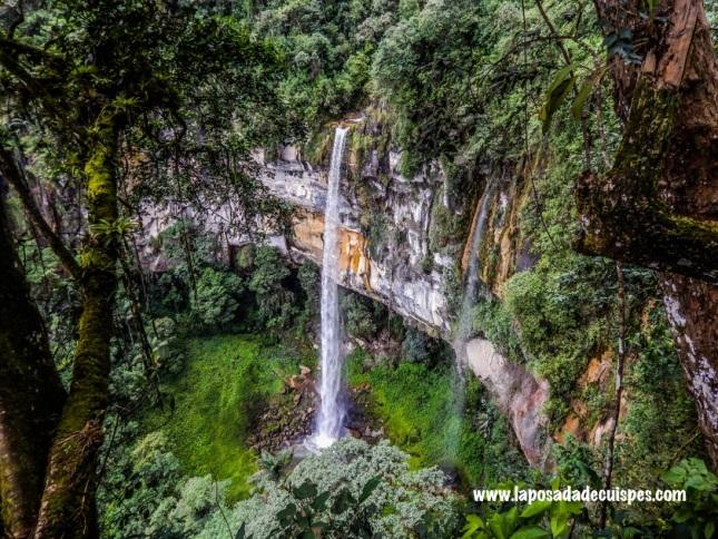 La Posada de Cuispes Yumbilla falls 4