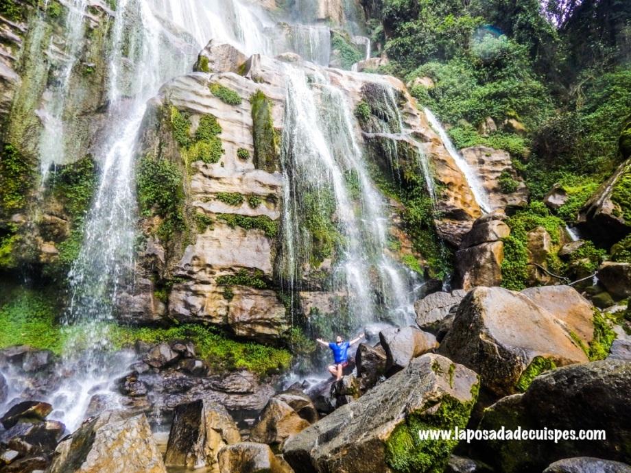 La Posada de Cuispes Yumbilla falls 5
