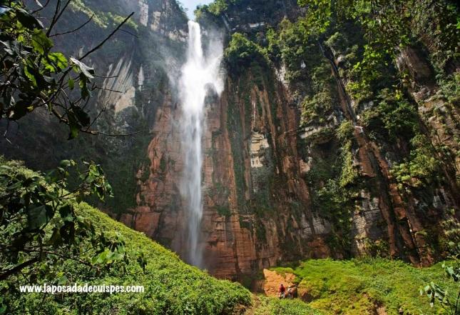 La Posada de Cuispes Yumbilla falls 8