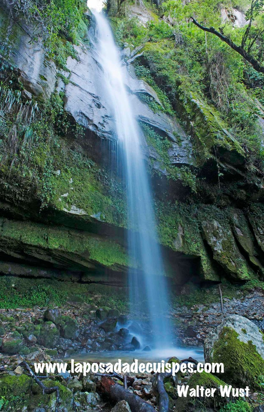 Yumbilla falls waterfall La Posada de Cuispes-019