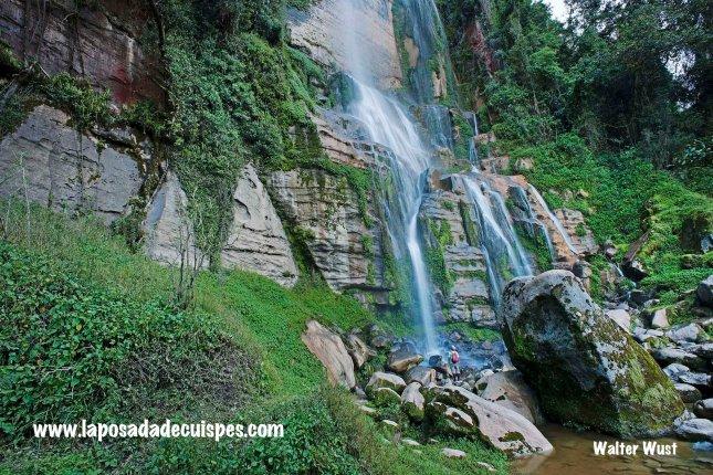 Yumbilla falls waterfall La Posada de Cuispes-020