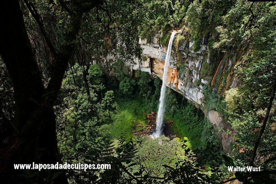Yumbilla falls waterfall La Posada de Cuispes-025