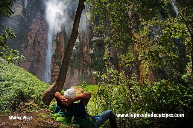 Yumbilla falls waterfall La Posada de Cuispes-035