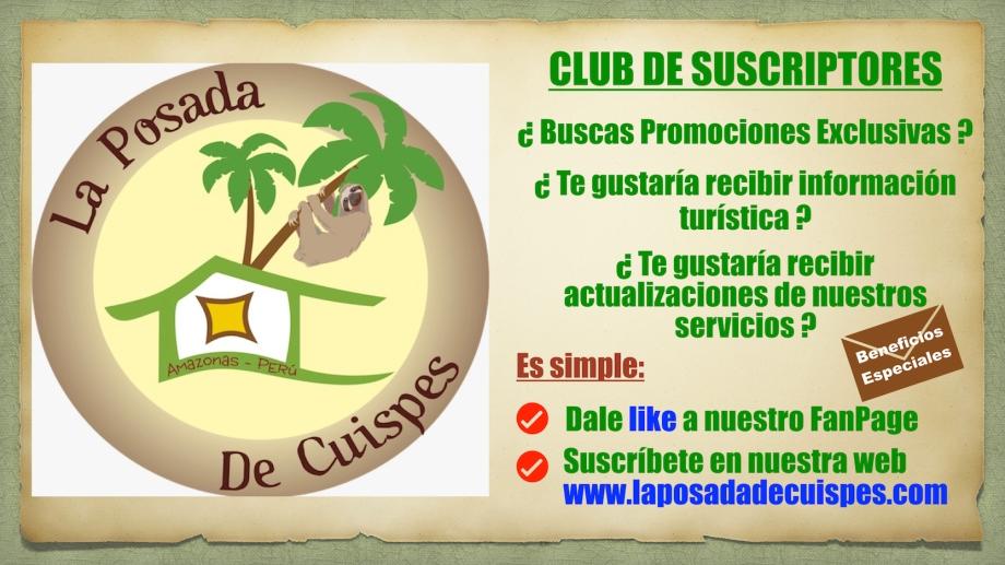Club de beneficios en Amazonas Cuispes Chachapoyas Perú